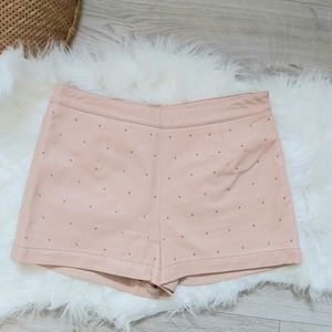 Pink Faux Leather Forever 21 shorts